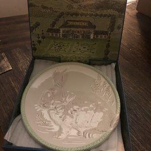 Juliska Limited Edition Easter Plates-set of 4